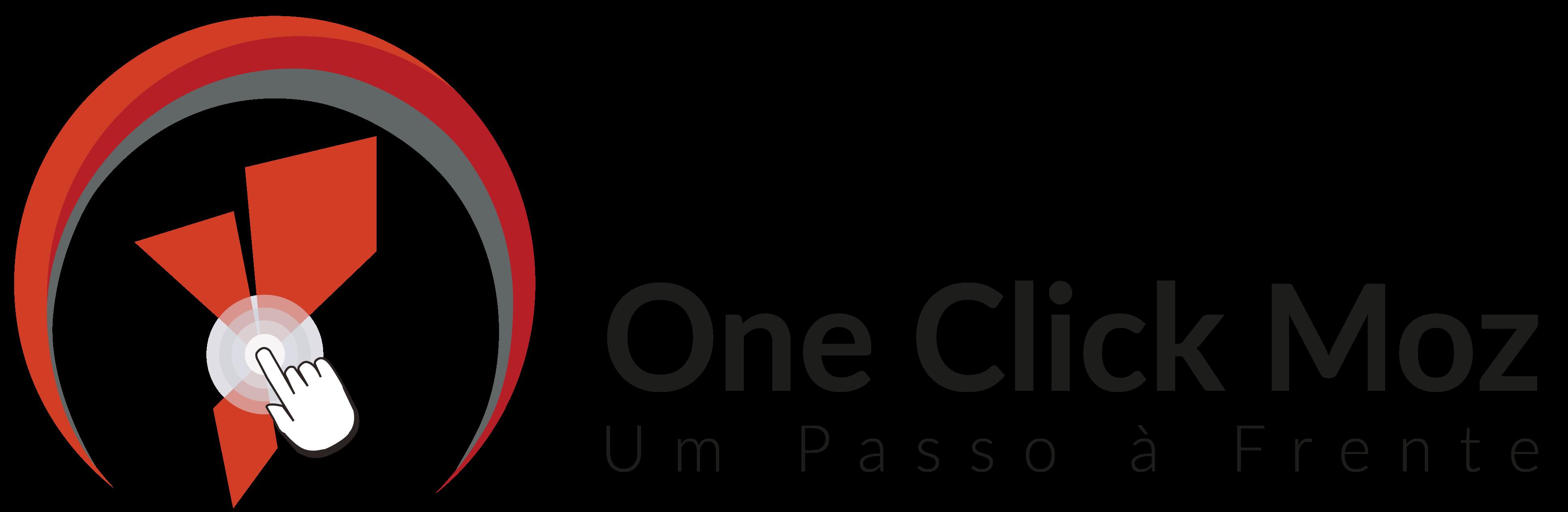 Logotipo One Click Mozambique, Estratégia de Marketing e Comunicação, One Click Mozambique, Full Service, Agência 360